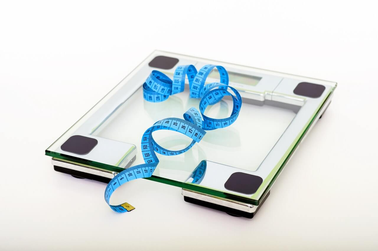 losing weight with marijuana scale